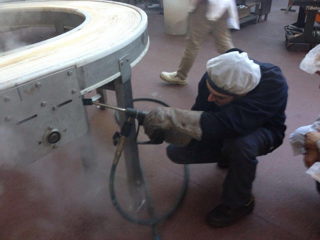 pulizia a vapore