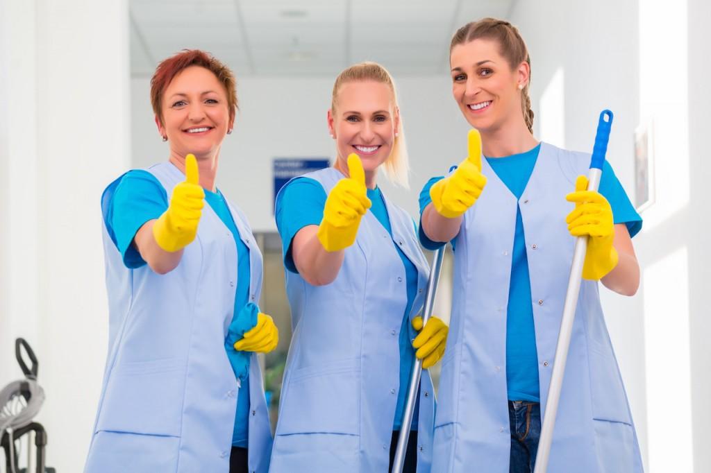 squadra di pulizie L'Igiencia