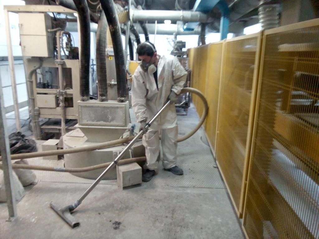 Pulizie impianti industria del marmo